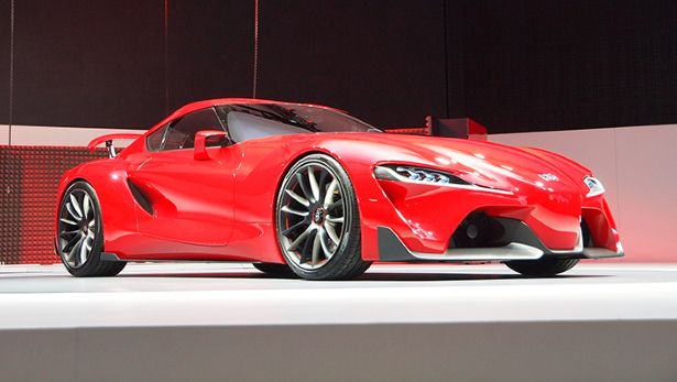 Could this be the new Toyota Supra