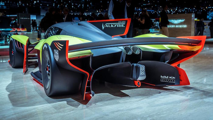 Be Afraid This Is The 1 100bhp Aston Martin Valkyrie Amr Pro