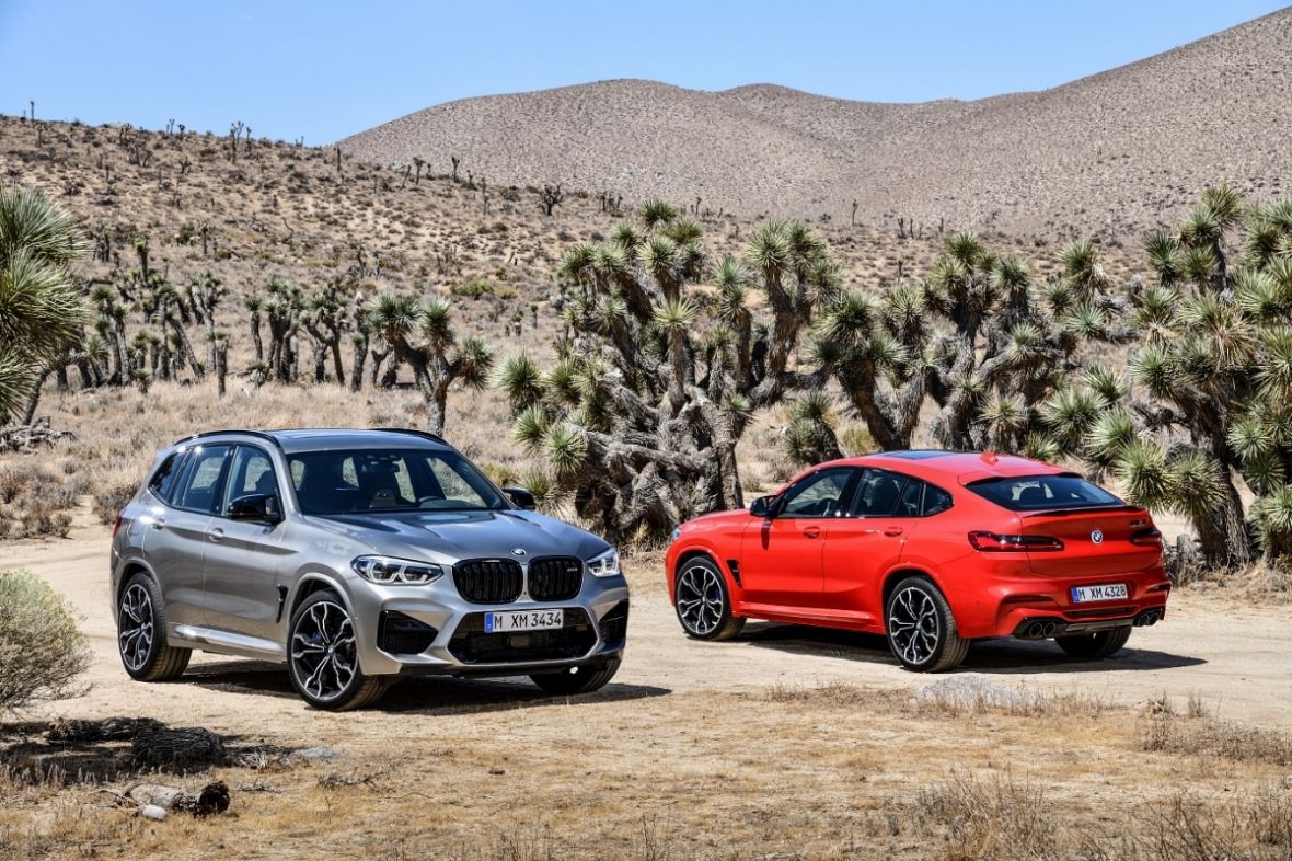 BMW X3 M Competition & X4 M Competition