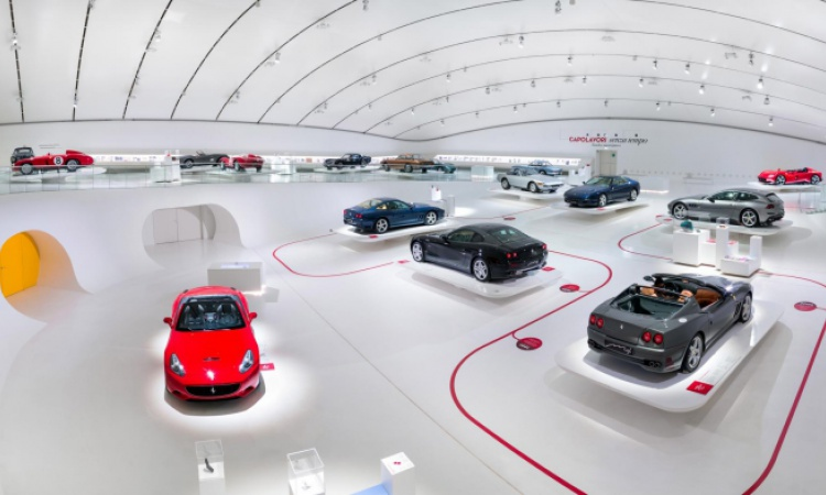 Gallery: have a look inside the Ferrari Museum